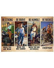 biker bestrong dvhd ntv 17x11 Poster front