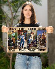biker bestrong dvhd ntv 17x11 Poster poster-landscape-17x11-lifestyle-19