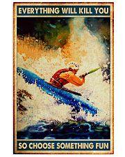 Choose fun kayak dvhd-nna 11x17 Poster front