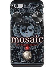 Guitar eff digt mosaic 12 dvhd Phone Case i-phone-8-case