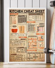Kitchen cheat sheet 24x36 Poster lifestyle-poster-4