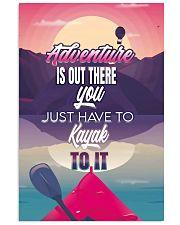 Kayak adventure retro dvhd-cva 11x17 Poster front