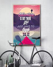 Kayak adventure retro dvhd-cva 11x17 Poster lifestyle-poster-7