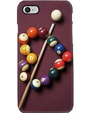billiard balls Heart shaped pc lqt pml Phone Case i-phone-8-case