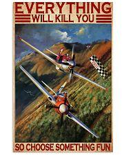 choose fun air race dvhd ntv 11x17 Poster front