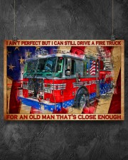 firefighter firetruck old man pt lqt-nth 36x24 Poster aos-poster-landscape-36x24-lifestyle-11