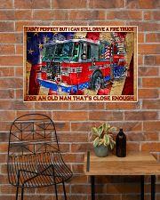 firefighter firetruck old man pt lqt-nth 36x24 Poster poster-landscape-36x24-lifestyle-20
