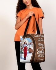 Skiing girl born custom tote lqt-ngt All-over Tote aos-all-over-tote-lifestyle-front-06