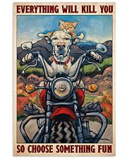 Choose fun dog cat 11x17 Poster front