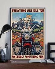 Choose fun dog cat 11x17 Poster lifestyle-poster-2