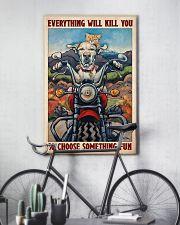 Choose fun dog cat 11x17 Poster lifestyle-poster-7