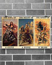 Hippie sailor biker dvhd-ntv 17x11 Poster poster-landscape-17x11-lifestyle-18