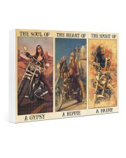 Hippie sailor biker dvhd-ntv 24x16 Gallery Wrapped Canvas Prints thumbnail