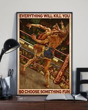 Muay choose fun dvhd 11x17 Poster lifestyle-poster-2