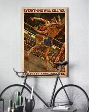 Muay choose fun dvhd 11x17 Poster lifestyle-poster-7