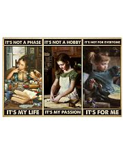 baking passion dvhd ngt 17x11 Poster front