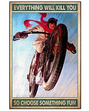 Choose fun caferacer 11x17 Poster front
