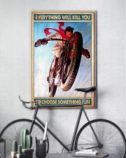 Choose fun caferacer 11x17 Poster lifestyle-poster-7