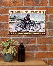 choose fun velo 17x11 Poster poster-landscape-17x11-lifestyle-23