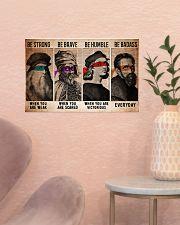 Renaissance master be strong dvhd-ntv 17x11 Poster poster-landscape-17x11-lifestyle-22