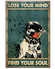 Lose mind motorcycle dvhd-ntv 16x24 Poster front