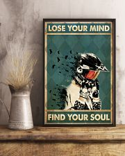 Lose mind motorcycle dvhd-ntv 16x24 Poster lifestyle-poster-3