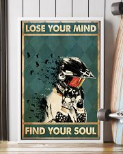 Lose mind motorcycle dvhd-ntv 16x24 Poster lifestyle-poster-4