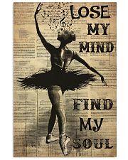 ballet findmysoul dvhd pml Vertical Poster tile
