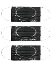 Vinyl turntable blk dvhd-pml Cloth Face Mask - 3 Pack thumbnail