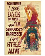 Lady bike look back dvhd-pml 11x17 Poster front