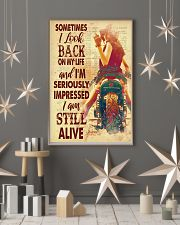 Lady bike look back dvhd-pml 11x17 Poster lifestyle-holiday-poster-1