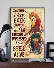 Lady bike look back dvhd-pml 11x17 Poster lifestyle-poster-2