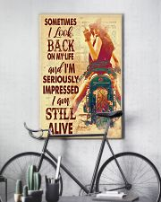 Lady bike look back dvhd-pml 11x17 Poster lifestyle-poster-7