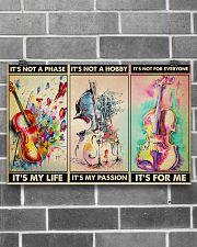 violin pasion dvhd ngt 17x11 Poster poster-landscape-17x11-lifestyle-18