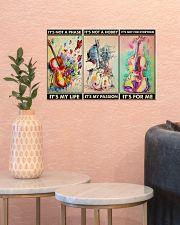 violin pasion dvhd ngt 17x11 Poster poster-landscape-17x11-lifestyle-21