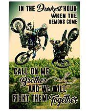 demon come motocross dvhd cva 11x17 Poster front