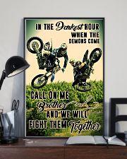 demon come motocross dvhd cva 11x17 Poster lifestyle-poster-2