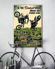 demon come motocross dvhd cva 11x17 Poster lifestyle-poster-7