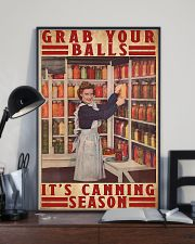 Grab your balls it's canning season poster 11x17 Poster lifestyle-poster-2