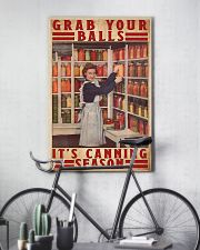 Grab your balls it's canning season poster 11x17 Poster lifestyle-poster-7