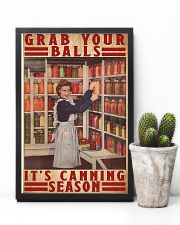 Grab your balls it's canning season poster 11x17 Poster lifestyle-poster-8