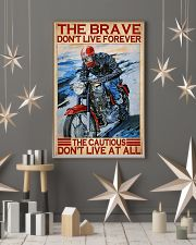 brave cautious biker dvhd ntv 11x17 Poster lifestyle-holiday-poster-1