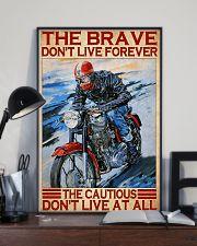brave cautious biker dvhd ntv 11x17 Poster lifestyle-poster-2