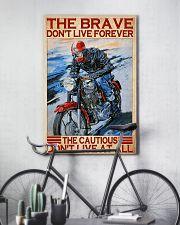 brave cautious biker dvhd ntv 11x17 Poster lifestyle-poster-7