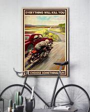 motocycle car race choosefun dvhd dqh 11x17 Poster lifestyle-poster-7