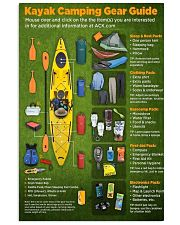 kayak camping dvhd cva  11x17 Poster front