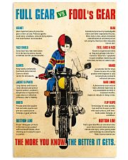 Bike safety dvhd 11x17 Poster front