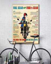 Bike safety dvhd 11x17 Poster lifestyle-poster-7