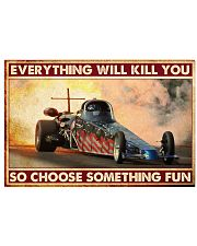 Drag Racing Choose ST Fun 10 PDN-nna 36x24 Poster front