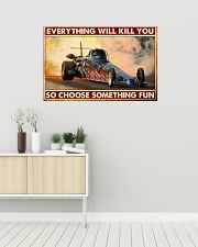 Drag Racing Choose ST Fun 10 PDN-nna 36x24 Poster poster-landscape-36x24-lifestyle-01